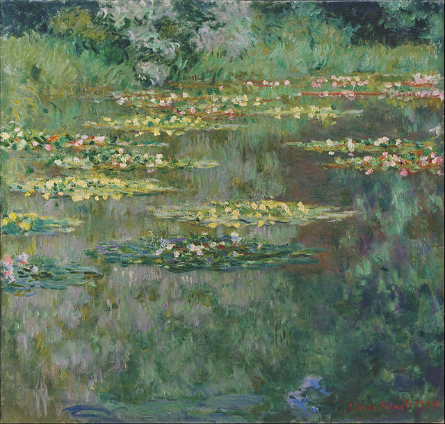 Decor To Adore: Monet's Water Lily Pond