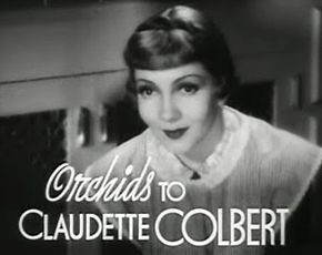 Description de l'image Claudette Colbert in Tovarich trailer.jpg.