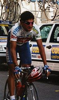 Claudio Chiappucci Italian cyclist