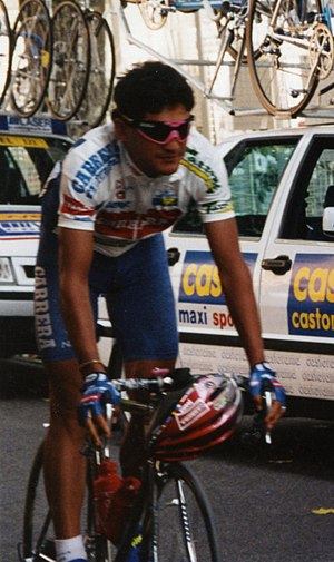 Claudio Chiappucci - Chiappucci at the 1993 Tour de France