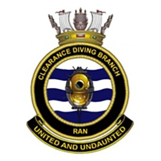 Clearance Diving Branch (RAN) - Clearance Diving Branch Badge