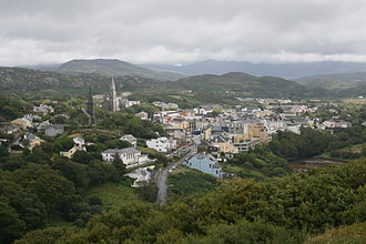 Clifden - View from John D'Arcy Monument on the Sky Road