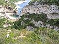 Climbing down to Stiniva beach, island of Vis, Croatia (2).jpg