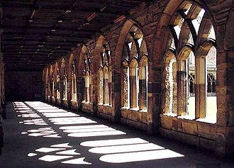 Durham Priory - The cloister of Durham Cathedral