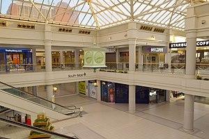 Howard Centre - The Howard Centre atrium in May 2017