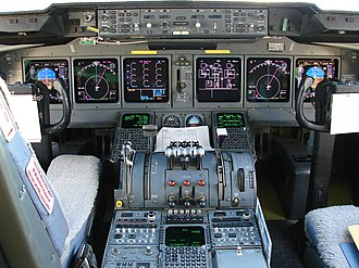 McDonnell Douglas MD-11 - Two-crew glass cockpit