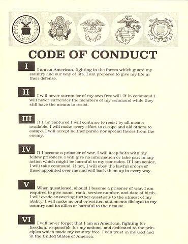 Examples of personal code of ethics – Mackenzie