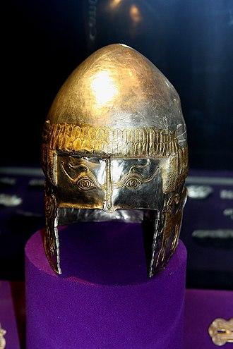 Helmet of Peretu - Image: Coif Argint MNIRTEZAUR 2011 05 15