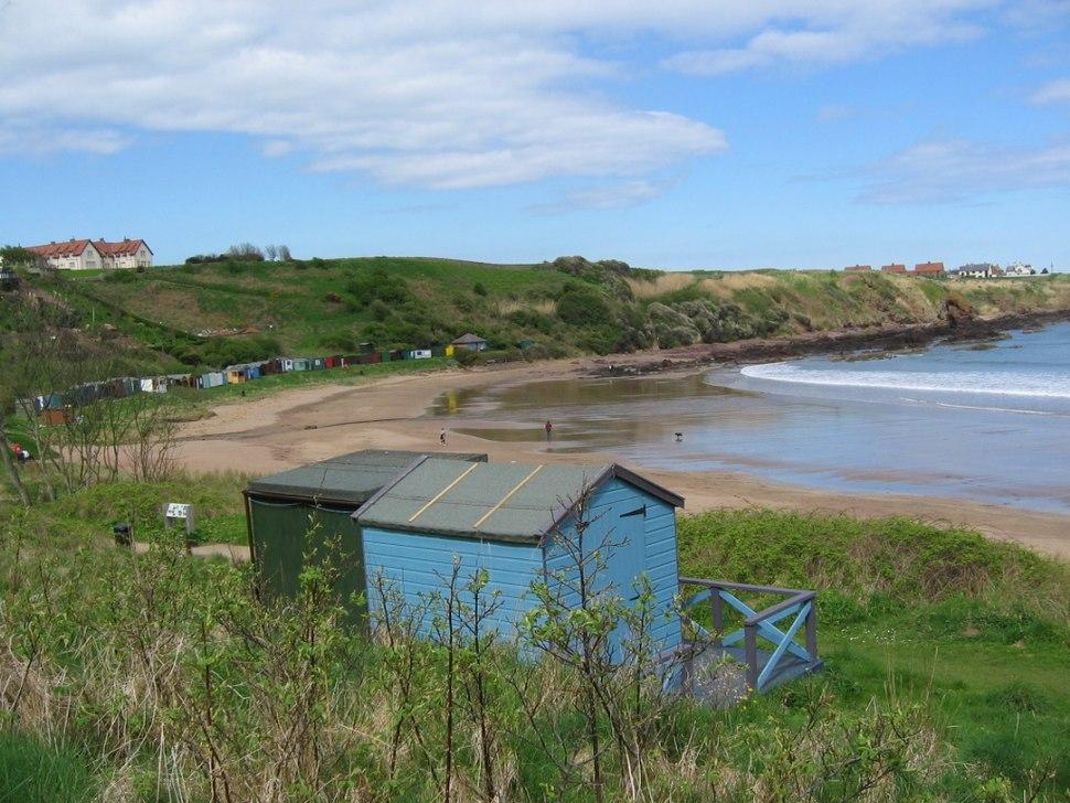 Coldingham Beachhuts1