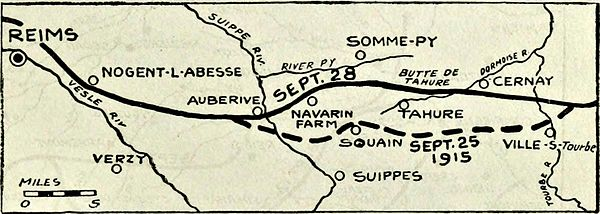 Collier's 1921 World War - French offensive in the Champagne.jpg