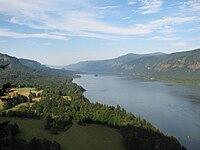 Ущелье реки колумбия
