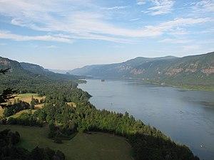 Der Columbia im Bereich der Columbia River Gorge