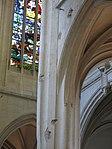 Column inside church St-Gervais-St-Protais with impacts of shell.jpg