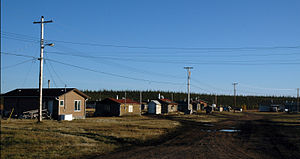 Colville Lake, Northwest Territories - The community in autumn