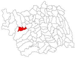 Vị trí của Comanesti