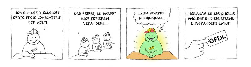 freier Comic
