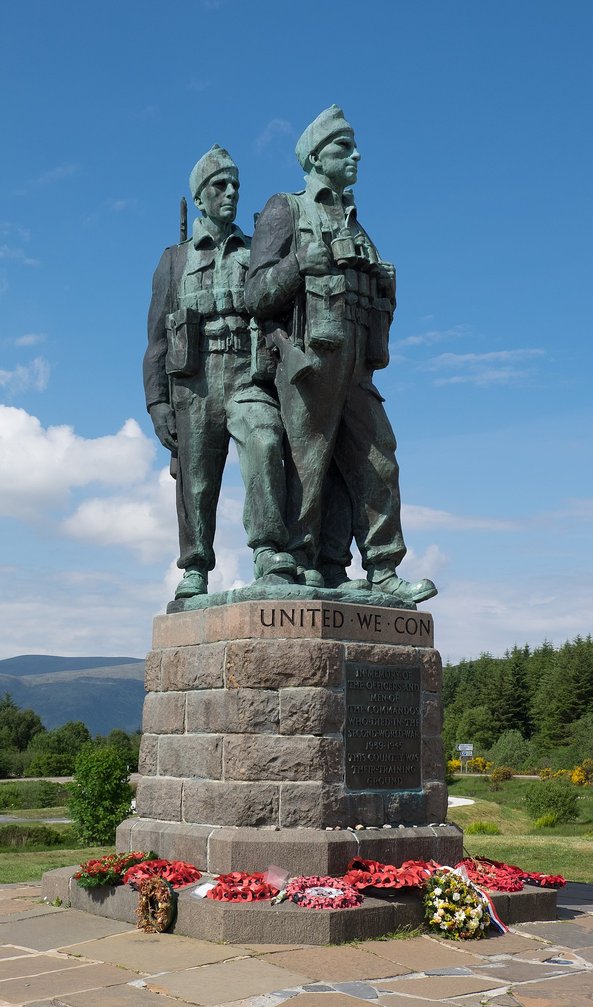 Memorial To Arthur Memorial: Commando Memorial