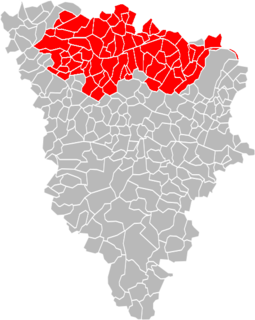 Location within the Yvelines department