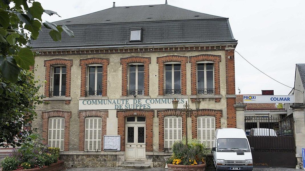 Communauté de commune de la région de Suippes, vue du siège.