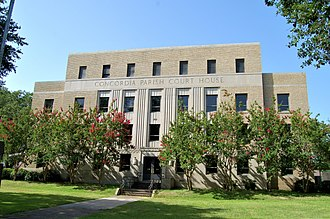 National Register of Historic Places listings in Concordia Parish, Louisiana - Image: Concordia Courthouse