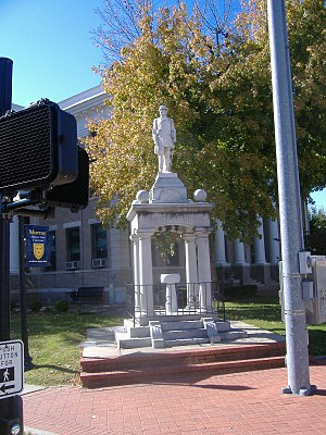 Confederate Monument, Murray, Kentucky - Image: Confederate Monument in Murray 2
