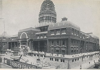 Palace of the Argentine National Congress - The Congress in construction, 1906.