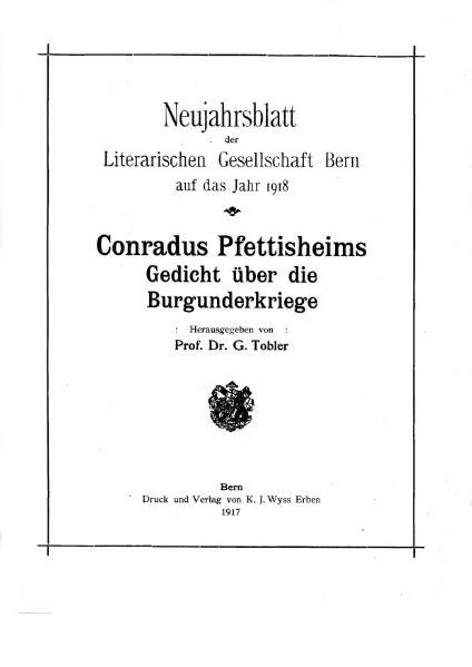 File:Conradus Pfettisheims Gedicht ueber die Burgunderkriege.djvu