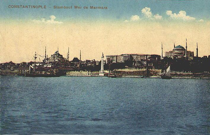 Constantinople from the Sea