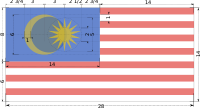 Construction sheet of Flag of Malaysia.svg