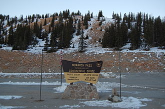 Colorado - Continental Divide at Monarch Pass