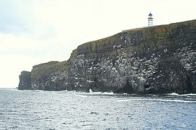 Copinsay Lighthouse en passant. - geograph.org.uk - 531401.jpg