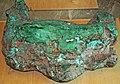 Copper glacial boulder (Mesoproterozoic, 1.05-1.06 Ga; Upper Peninsula of Michigan, USA) (17145442128).jpg