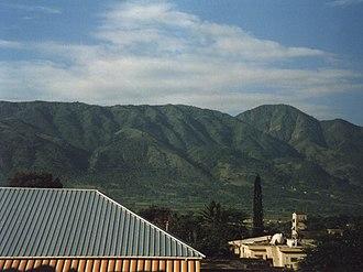 Jarabacoa - Central Range from Jarabacoa during the summer of 1997
