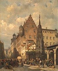 Der Schöne Brunnen Nürnberg Hauptmarkt