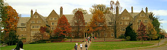 Cornell North Campus - Balch as seen from the front