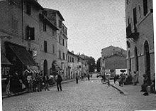 Corso del Popolo negli anni dieci del Novecento.