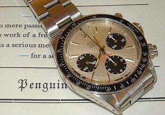 Rolex - Rolex Daytona chronograph stainless steel, white dial (ref. 6263)