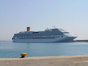 Concordia-class cruise ship - Image: Costa Serena agosto 2008