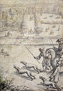 Francis Barlow's Coursing the Hare; 1686.[77]