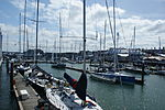 Cowes Yacht Haven during Cowes Week 2011 7.JPG