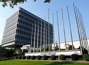 Crédit Mutuel - Image: Crédit Mutuel Strasbourg