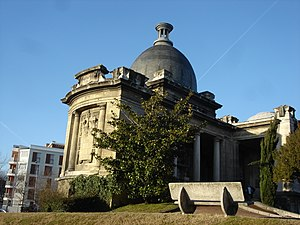 Guillotière Cemetery - Image: Crématorium Nouveau cimetière de la Guillotière 01