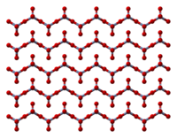 Ball-and-stick model of chromium trioxide