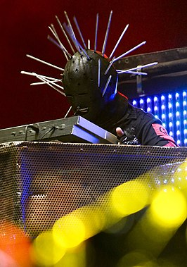 Craig Jones met Slipknot op het Optimus Alive Festival (2009).
