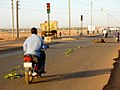 Crashed motorcycle in Burkina Faso, 2009.jpg