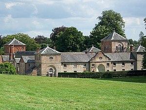 Baron Alington - Crichel House, the seat of the Sturt family.