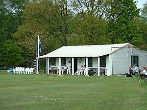 Headley, Surrey - Image: Cricket pavilion at Headley Heath geograph.org.uk 24501