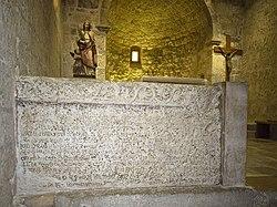 Crkva sv Lucije Jurandvor Bascanska ploca 14092012 2 roberta f.jpg