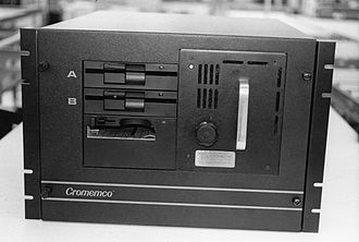 Cromemco Z-2 - Cromemco Z-2 System with removable hard disk was deployed worldwide by the United States Air Force (1986).