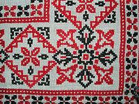 0142c7b24d Keresztszemes hímzés – Wikipédia